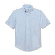 Unisex Oxford Short-sleeve Shirt