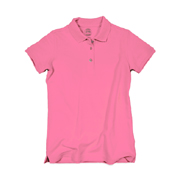 Girls' 100% Cotton Short-sleeve Polo