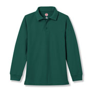 Unisex 100% Cotton Long-sleeve Polo