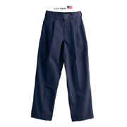 Boys' Cotton/poly Twill Pleated Pants