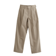 Boys' 100% Cotton Pleated Pants