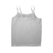 Girls' 100% Cotton Sleeveless Camisole