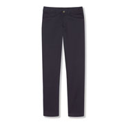 Girls' Cotton/poly Flat-front Pants