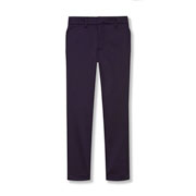 Girls' Stretch-twill Flat-front Pants